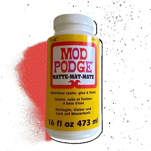 Mod Podge Matte Waterbase Sealer, Glue, & Finish 16 fl. oz.