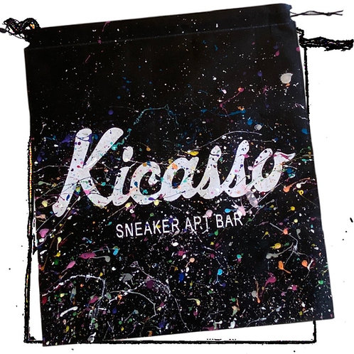 Kicasso Painted Gift Bag