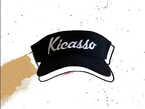 Kicasso Logo Sun Visor