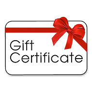 Click here to purchase a gift certificate.