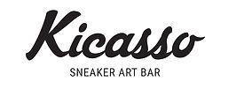 Kicasso Sneaker Art Bar Logo