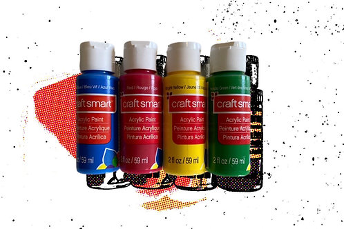 Craft Smart Acrylic Paint 2 fl. oz.