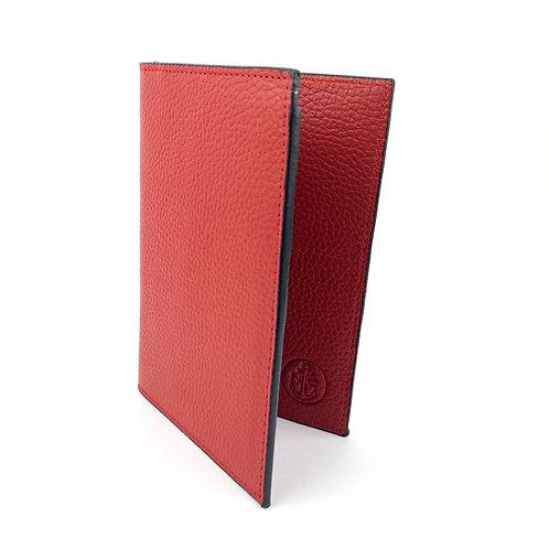 Porta Pasaporte LUX (Rojo)