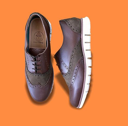 Zapato Oxford Marron