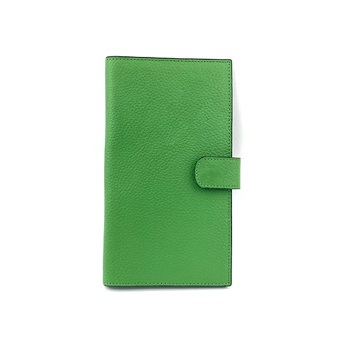 Porta Pasaporte Coral (Verde)