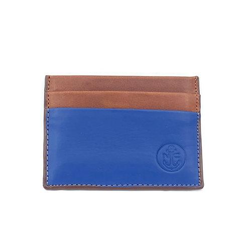 PortaTarjetas LUX (Azul Marron)