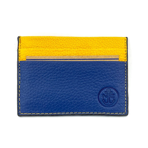 PortaTarjetas LUX (Azul Amarillo)