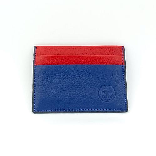 PortaTarjetas LUX (Azul Rojo)