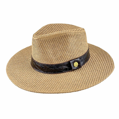 Sombrero | Marron Cuadros