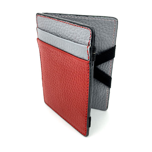 Magic Wallet (Rojo-Gris)