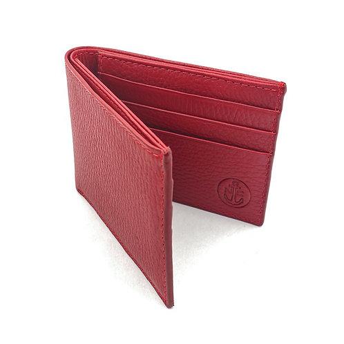 Billetera Clasica Rojo