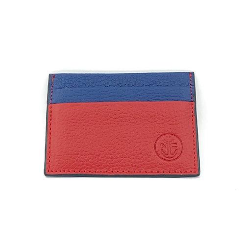 PortaTarjetas LUX (Rojo Azul)