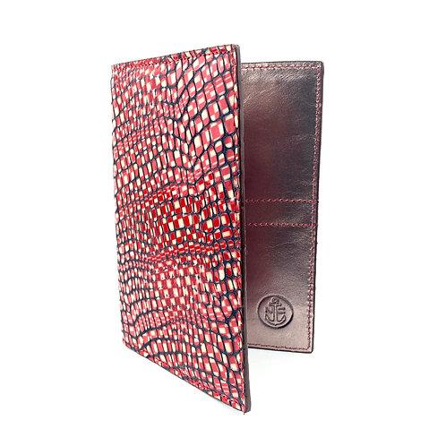 Porta Pasaporte LUX (Rojo Figura)