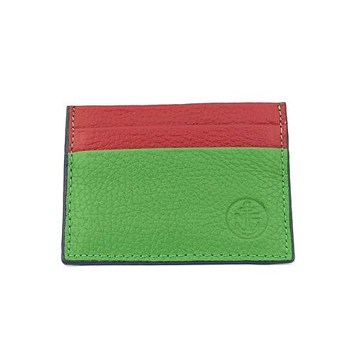 PortaTarjetas LUX (Verde Rojo)