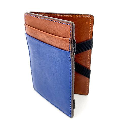 Magic Wallet (Azul-Marron)
