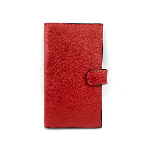 Porta Pasaporte Coral (Rojo)