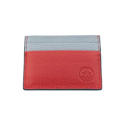 PortaTarjetas LUX (Rojo Gris)