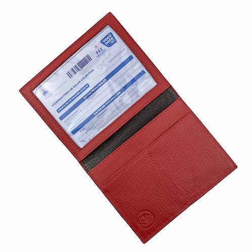 Porta Pasaporte + Tarjeta de Vacunacion