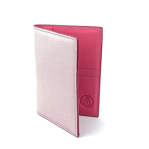 Porta Pasaporte LUX (Light Pink)