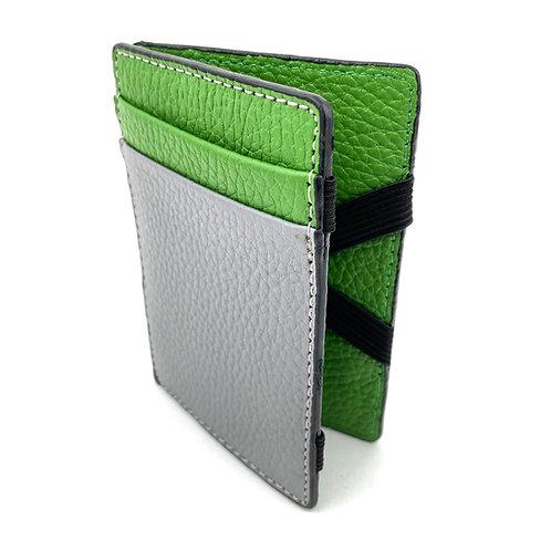 Magic Wallet (Gris-Verde)