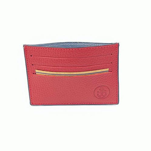 Porta Tarjetas Clasico (Rojo)