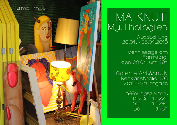 Ma Knut. April 2019. Exhibition at Art&A