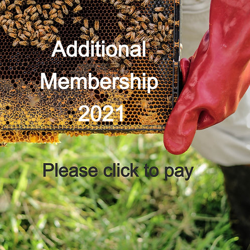 Yearly additional membership 2021 (for two people at the same address)