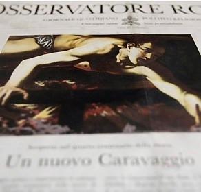Diário do Vaticano anuncia descoberta de possível Caravaggio