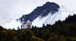 Neuschwanstain in the Fog