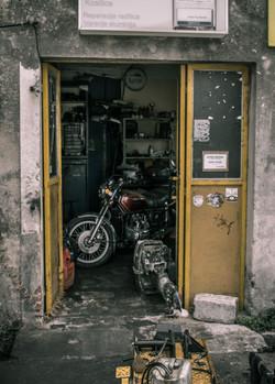 Motorcycle Door