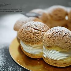 Vanilla choux cream