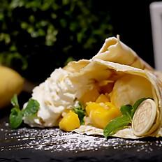 Mango stick-rice Crepe