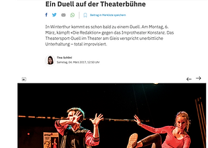 Improtheater Show, Impro, Improvisationstheater, Improvisation, Auftritt, Gaswerk