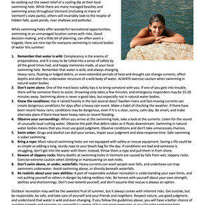 Water Safety and You
