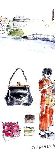 旅スケッチ2019  sketching