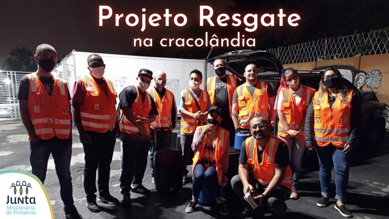 Projeto Resgate na cracolândia