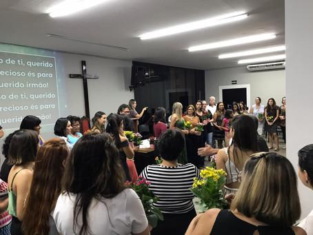 Congregações da JMP prestaram homenagem às mulheres