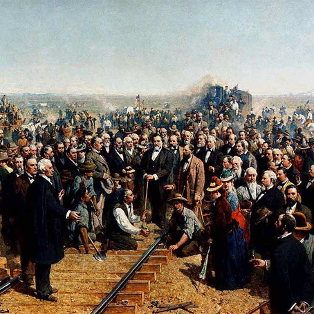 Quarterly Social Event:  150th Anniversary of the Transcontinental Railroad