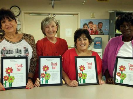 Houston Chapter Volunteers for MDA Children's Art Project