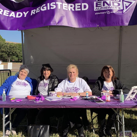 Houston Chapter walking to end Alzheimer's