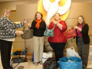 Purse Drive Helps Abuse Victims
