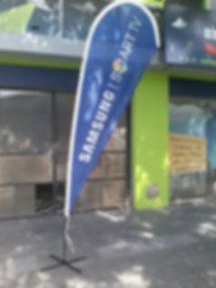 venta flag banners