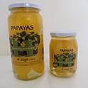 Papayas al jugo