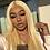Thumbnail: 613 Blonde Straight Hair ID220