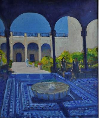 le Jardin Secret (2), Marrakech. 21 x 25