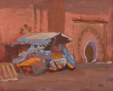 Orange Seller. 25 x 30 cm.jpg
