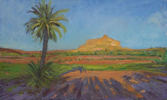 Kasbah, Ait Benhaddou. 60 x 100 cm.jpg