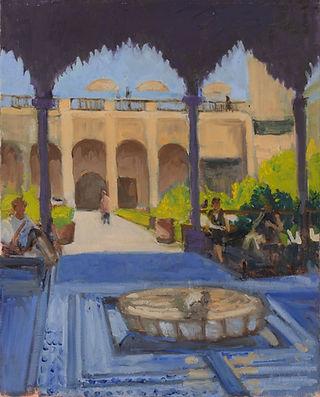 Jardin Secret, Marrakech. 50 x 40 cm.jpg