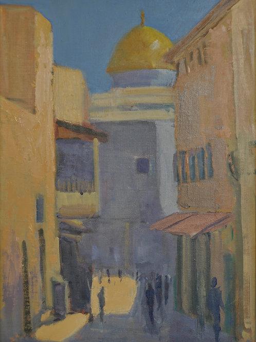 Street in the Arab Quarter