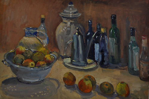 Still life with Oil Can
